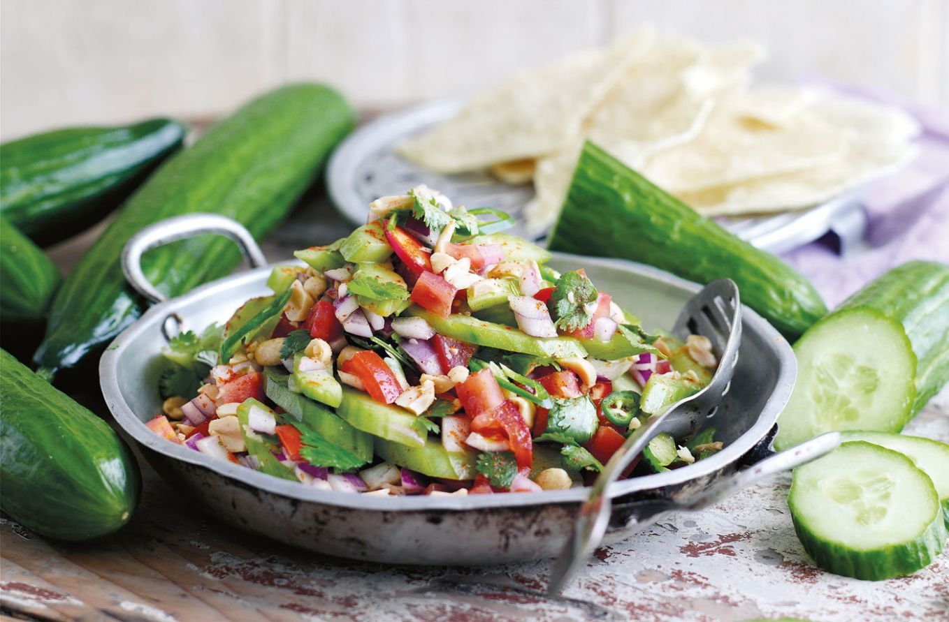 Indian-style cucumber salad - Salad Recipes India