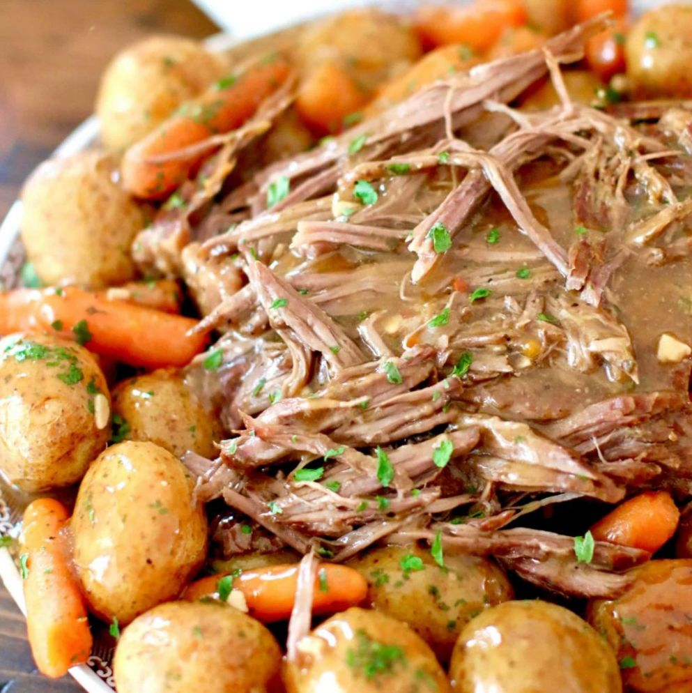 INSTANT POT BEEF POT ROAST | The Country Cook - Recipes Beef Rump Roast