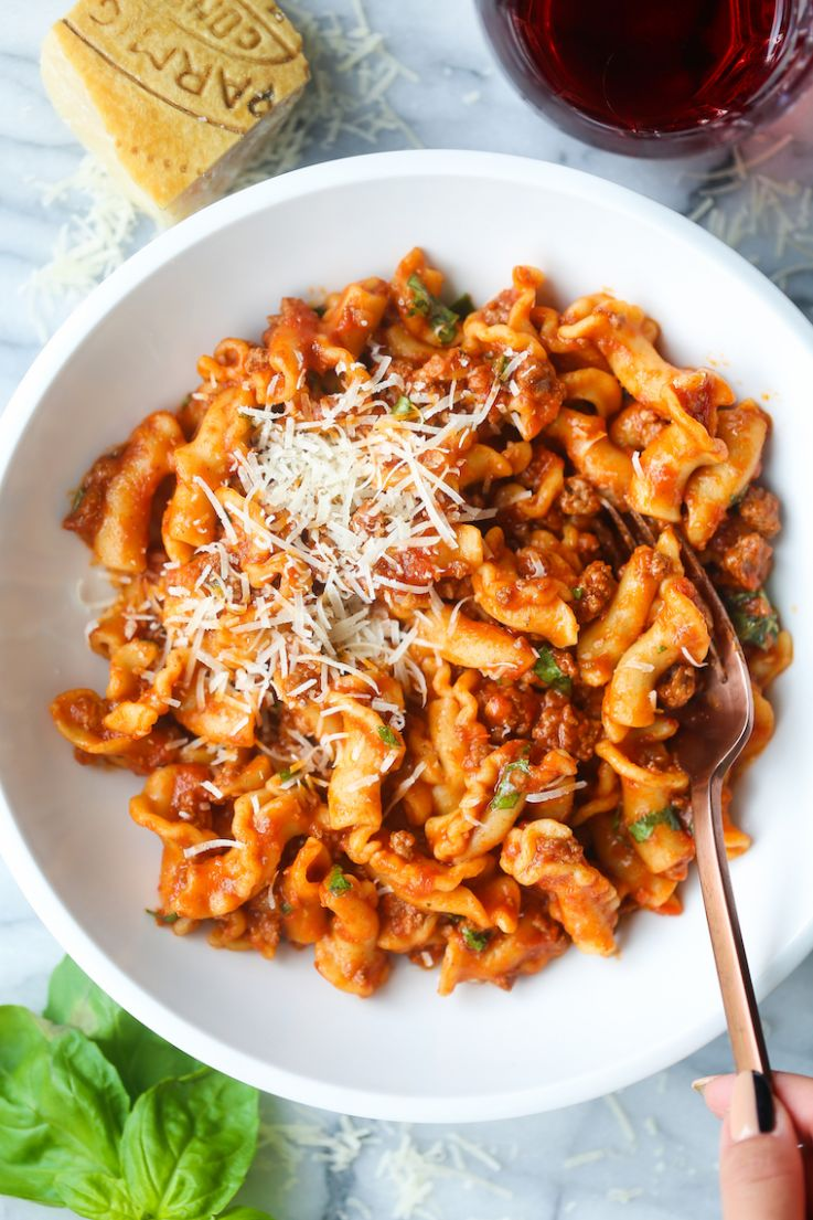 Instant Pot Ground Beef and Pasta - Dinner Recipes With Ground Beef