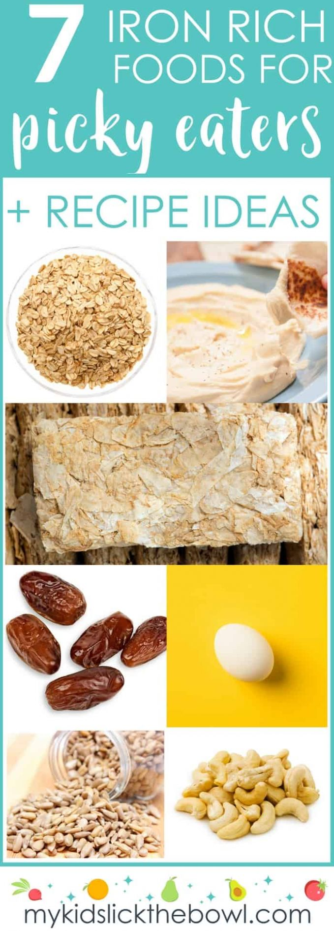 Iron Rich Foods For Kids + 9 Iron Rich Recipes For Picky Eaters - Food Recipes High In Iron