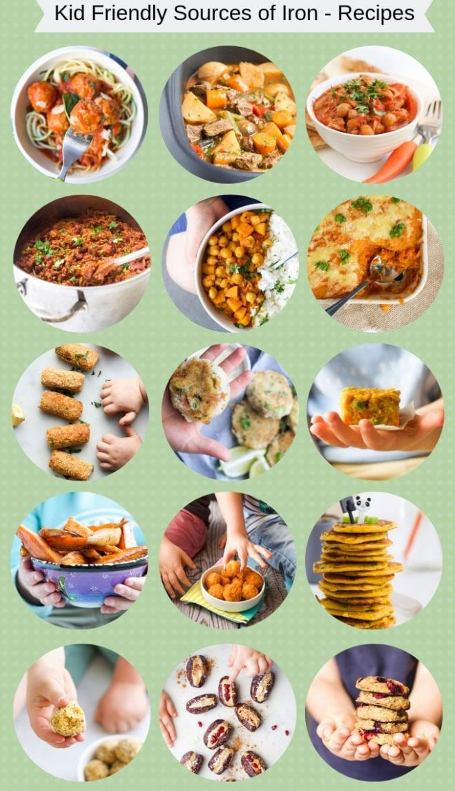 Iron Rich Foods For Kids - Healthy Little Foodies - Easy Recipes Rich In Iron