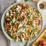 Israeli Couscous Salad With Feta, Chickpeas, And Herbs – Recipes Couscous Salad