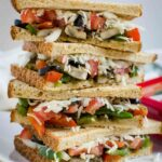 Italian Flavored Veggie Sandwich Recipe – Sandwich Recipes Easy Healthy
