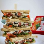 Italian Flavored Veggie Sandwich Recipe