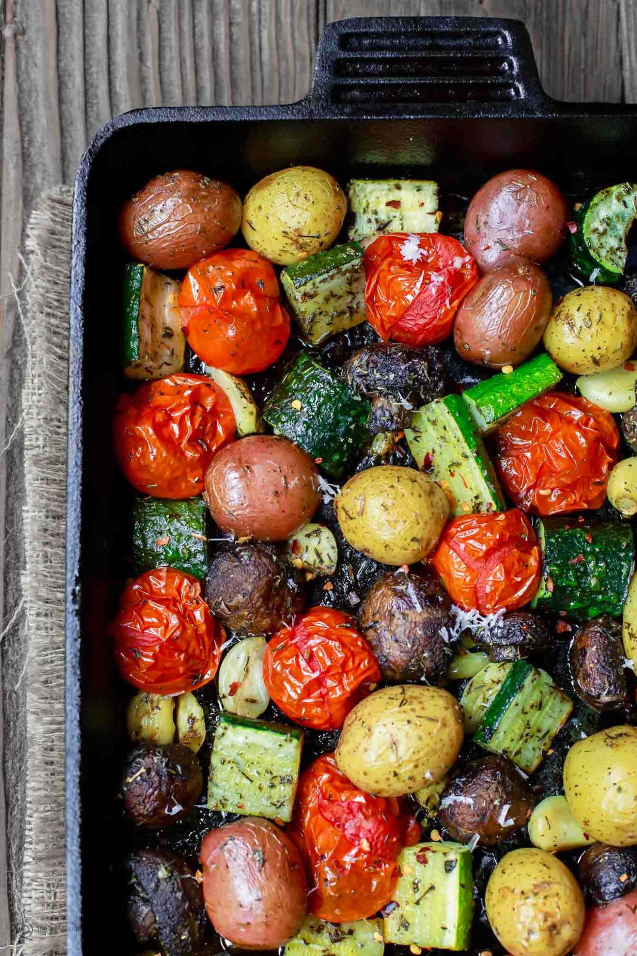 Italian Oven Roasted Vegetables - Recipes Vegetables Oven