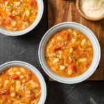 Italian Pasta and Bean Soup—Pasta e Fagioli