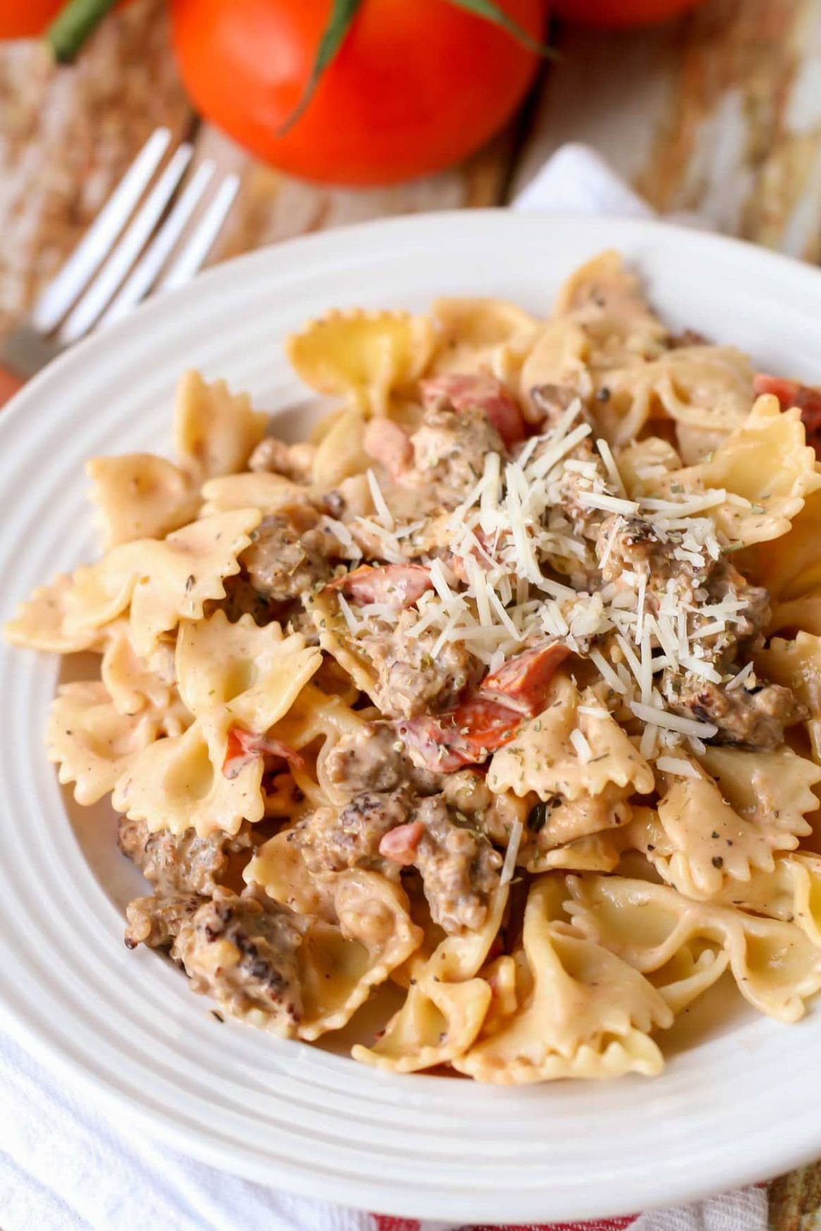 Italian Sausage Pasta Recipe - Recipes Pasta With Sausage