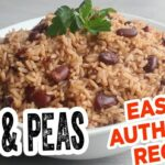 Jamaican RICE & PEAS – MOST Delicious EASY & Authentic Recipe – Recipes Rice And Peas