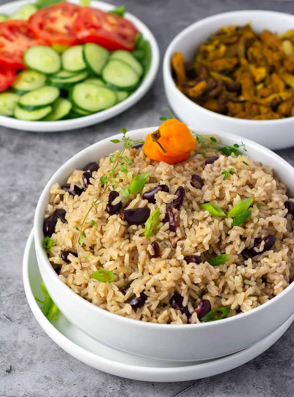 Jamaican Rice And Peas Recipe - Recipes Rice And Peas