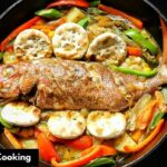 Jamaican Steamed Fish & Okra | FATHER'S DAY DINNER SPECIAL | Lesson #11 |  Morris Time Cooking – Fish Recipes Jamaican
