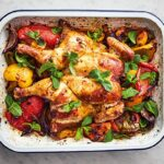 Jamie Oliver's 11 Ingredient Harissa Chicken Traybake – Recipes Chicken Jamie Oliver