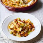 Jamie Oliver's Baked Tiella Rice With Mussels, Courgette, Cherry Tomatoes,  White Wine And Parmesan – Rice Recipes Jamie Oliver