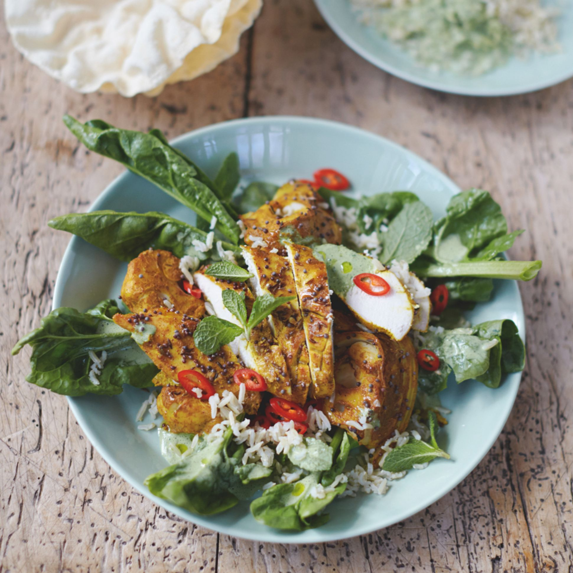 Jamie Oliver's Bombay Chicken and Cauli - Food Recipes Jamie Oliver