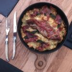 Jamie Oliver's pork and mash gratin - a delicious comforting dinner