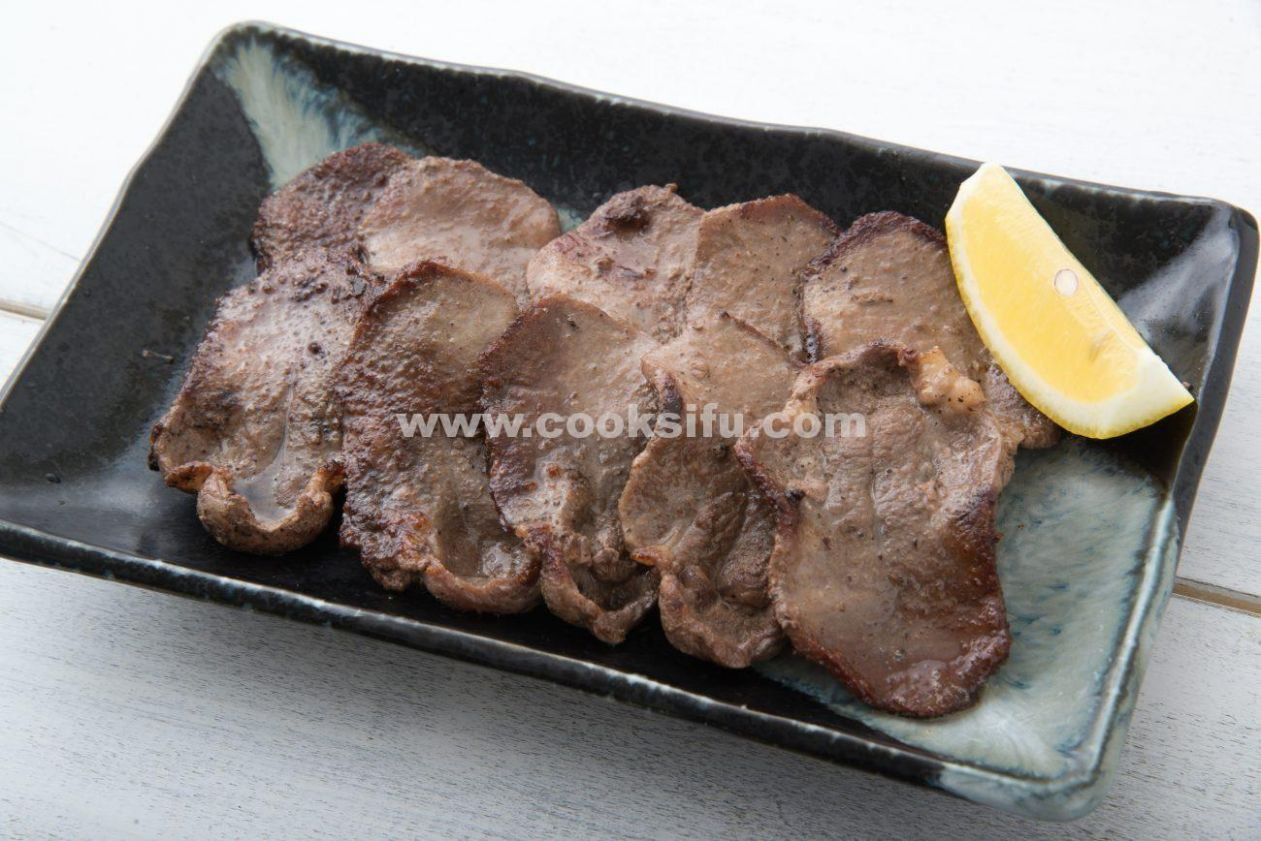 Japanese Grilled Beef Tongue
