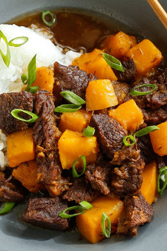 Japanese-Style Beef Stew - Soup Recipes Japanese Beef