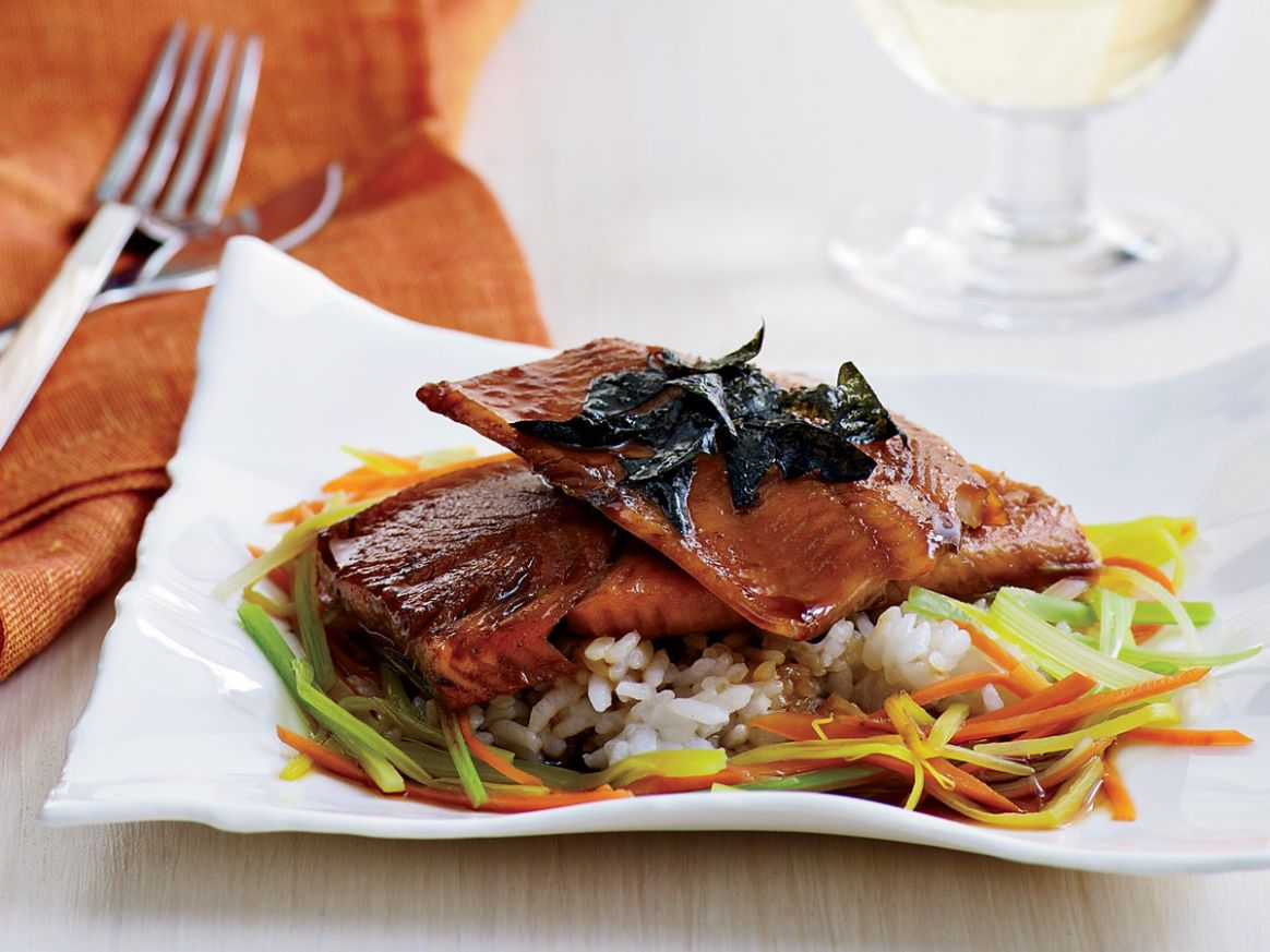 Japanese-Style Trout with Dashi - Fish Recipes Japanese Style