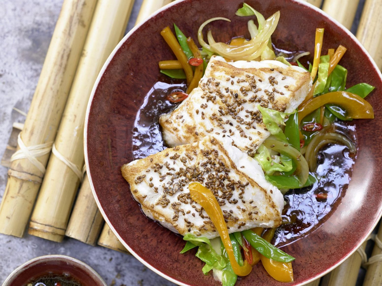 Japanese-Style Wolf Fish Fillets - Fish Recipes Japanese Style
