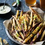 Japanese Sweet Potato Oven Fries With Wasabi Aioli – Sweet Potato Recipes Japanese
