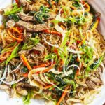 Japchae Is The Beef And Veggie Filled Korean Dish Of Dreams – Food Recipes Korean