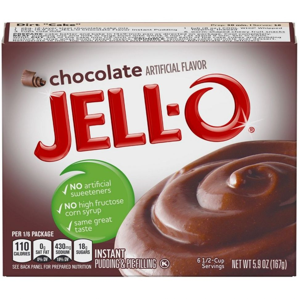 Jell-O Instant Chocolate Pudding & Pie Filling - 11.11oz | Chocolate ..