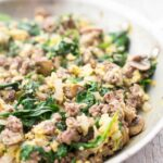 Joe's Special (Scrambled Eggs With Spinach, Beef, And Mushrooms) – Recipe Egg Ground Beef