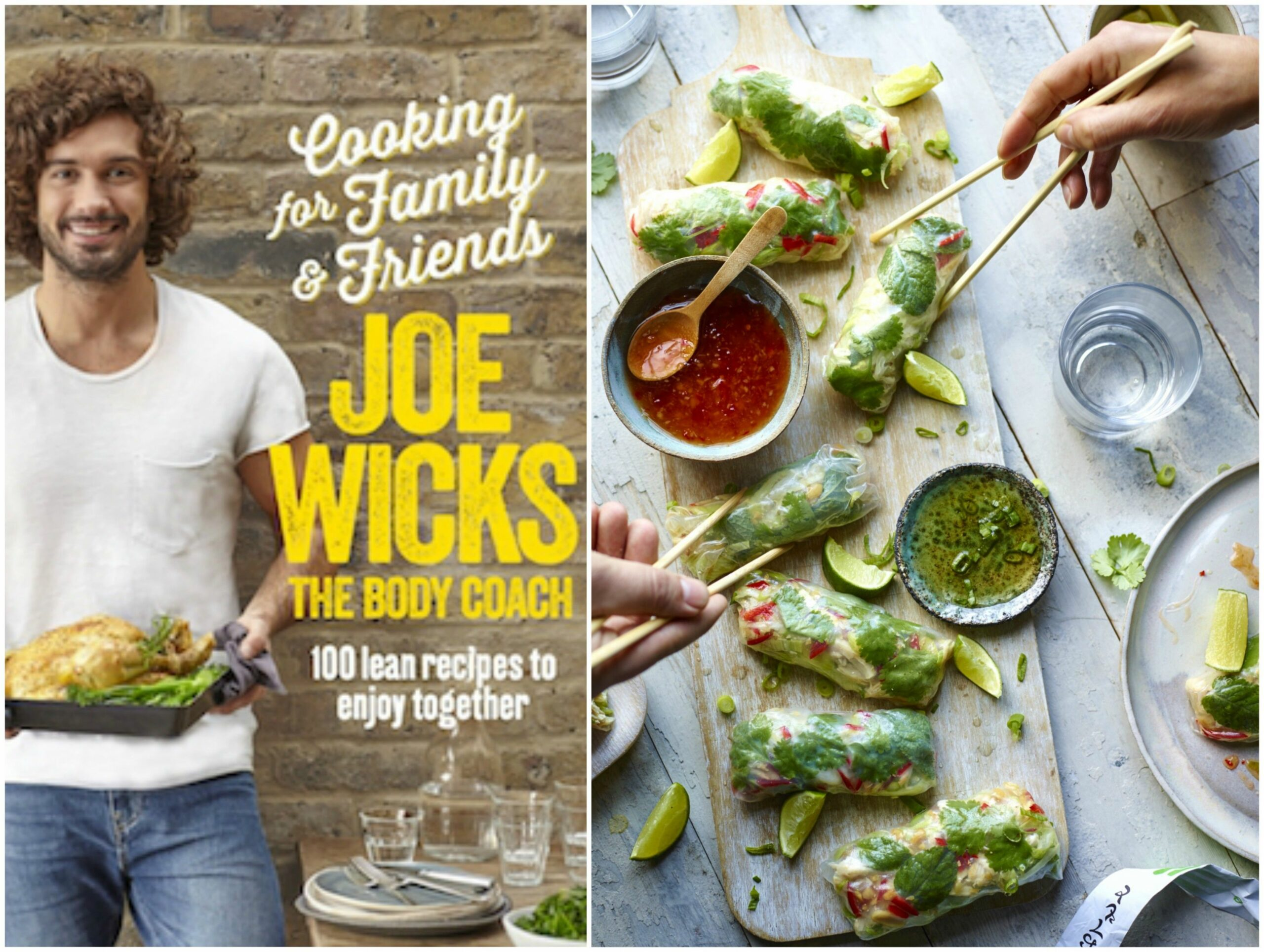Joe Wicks' Vietnamese summer rolls recipe is a healthy option that's big on  flavour