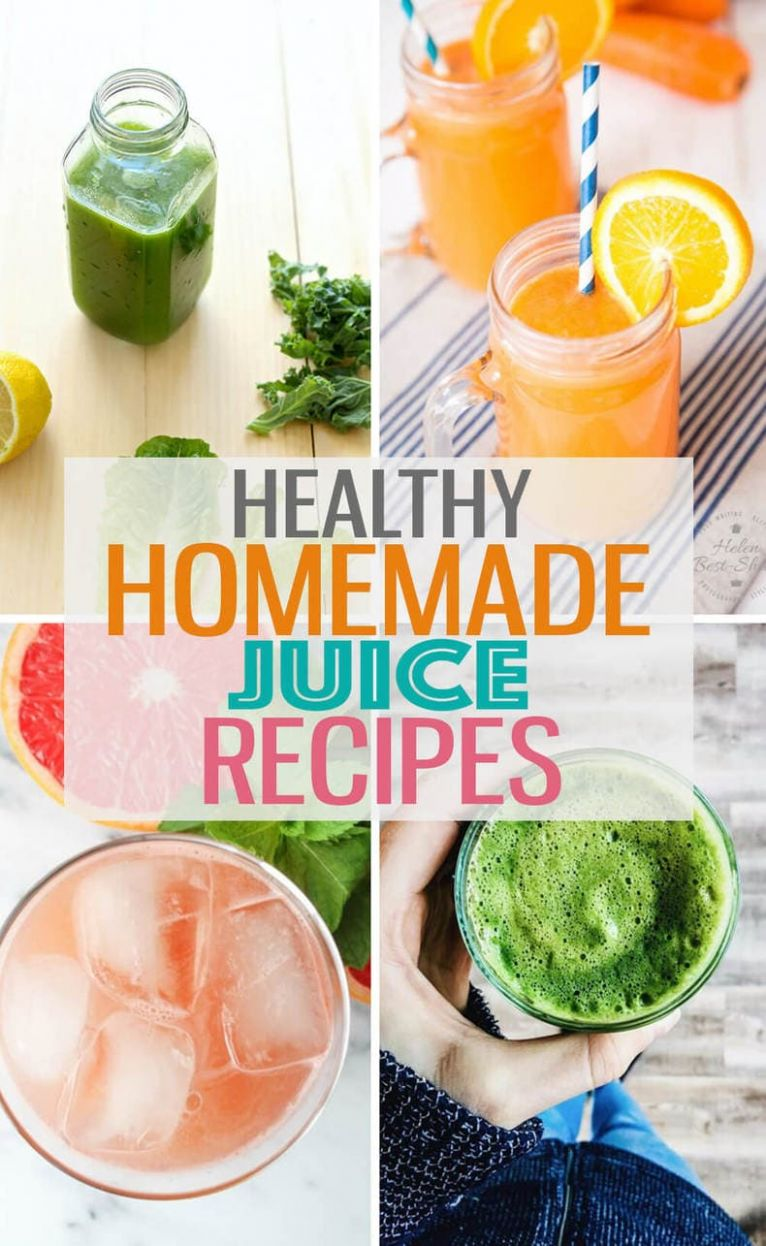 Juicing Recipes for Health and Wellness - The Girl on Bloor - Healthy Recipes Juice