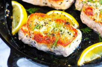 Juicy Oven Baked Pork Chops