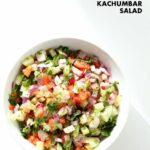 Kachumber Salad – Cucumber Tomato Onion Salad Recipe – Salad Recipes Kerala