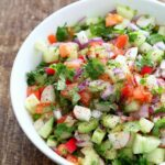 Kachumber Salad – Cucumber Tomato Onion Salad Recipe – Vegan Richa – Salad Recipes India