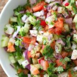 Kachumber Salad – Cucumber Tomato Onion Salad – Salad Recipes Indian