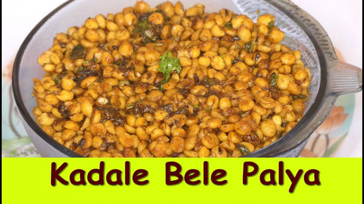 kadale bele palya in kannada| chana dal recipe|how to cook chana dal palya  without pressure cooker - Recipes Cooking Kannada