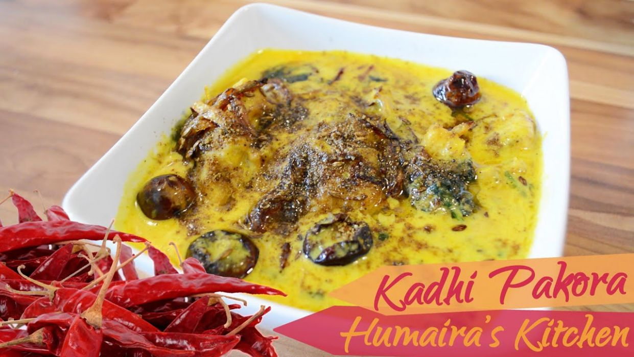 Kadhi Pakora - Punjabi Curry Pakora - Recipe in Urdu | Hindi - How to make  perfect kadhi - Urdu Recipes Kari