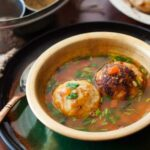 Karnataka Style Bonda Soup Recipe Urad Dal Fritters In Spicy Dal Soup – Soup Recipes Kannada