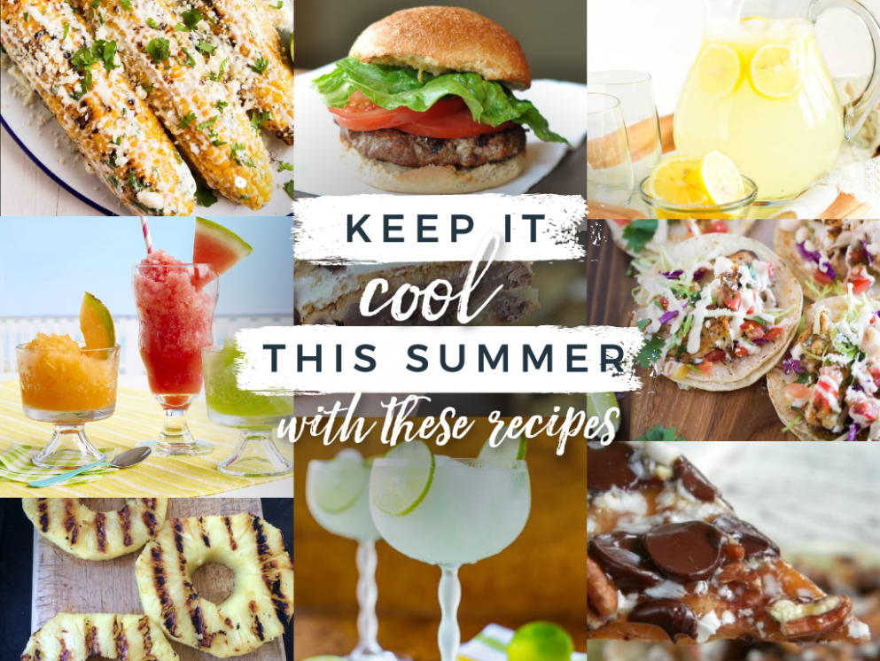 Keep It Cool This Summer With These Recipes - Summer Recipes Blog