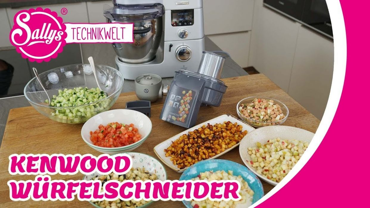 Kenwood Würfelschneider / Cooking Chef - Recipes Kenwood Cooking Chef