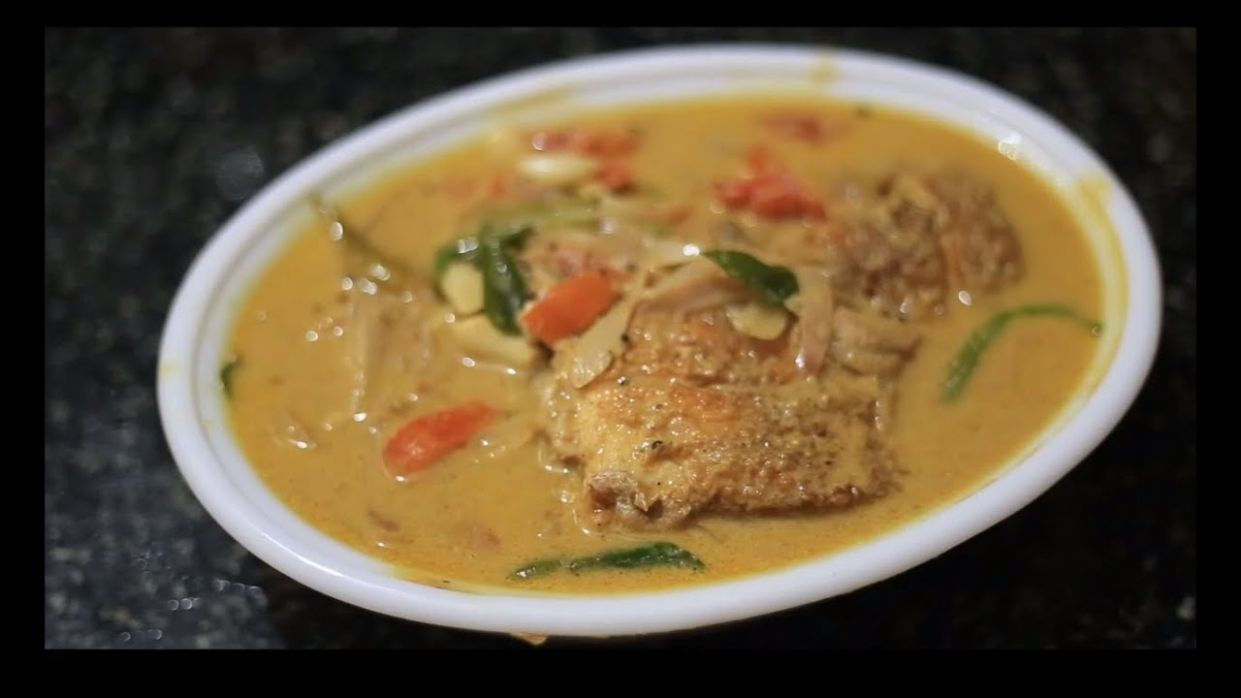 Kerala Fish Molly / Moly / Molee Video Recipe - Recipe Fish Molee