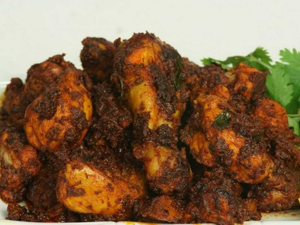 Kerala Spicy Chicken Fry - Recipes Chicken Fry