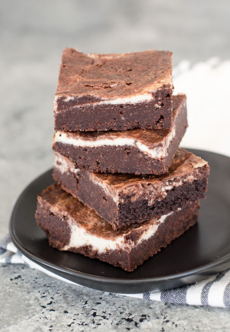 Keto Cheesecake Brownies - Maebells - Dessert Recipes Keto Diet
