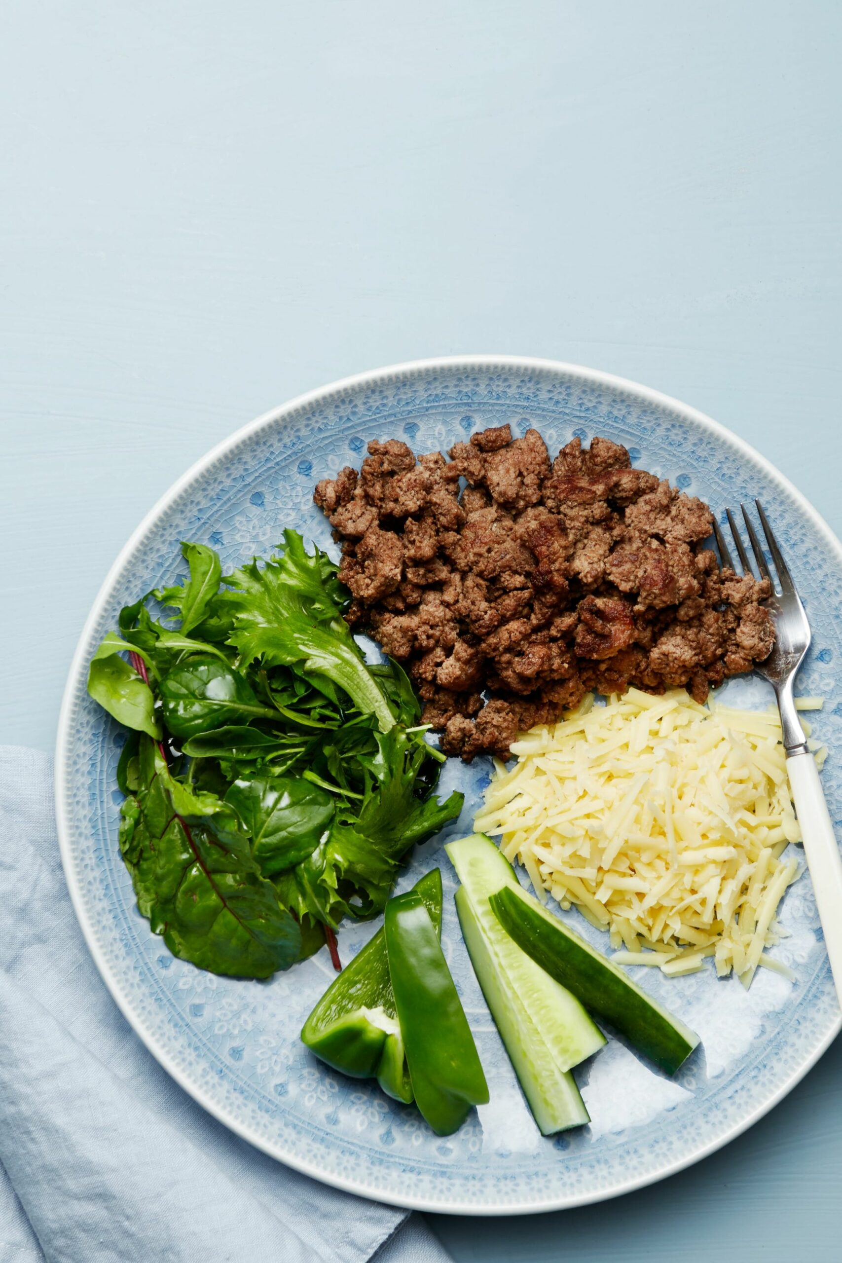 Keto Ground Beef Plate with Cheese — Recipe — Diet Doctor - Weight Loss Recipes Ground Beef