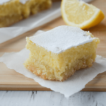 Keto Lemon Bars – Dessert Recipes Keto