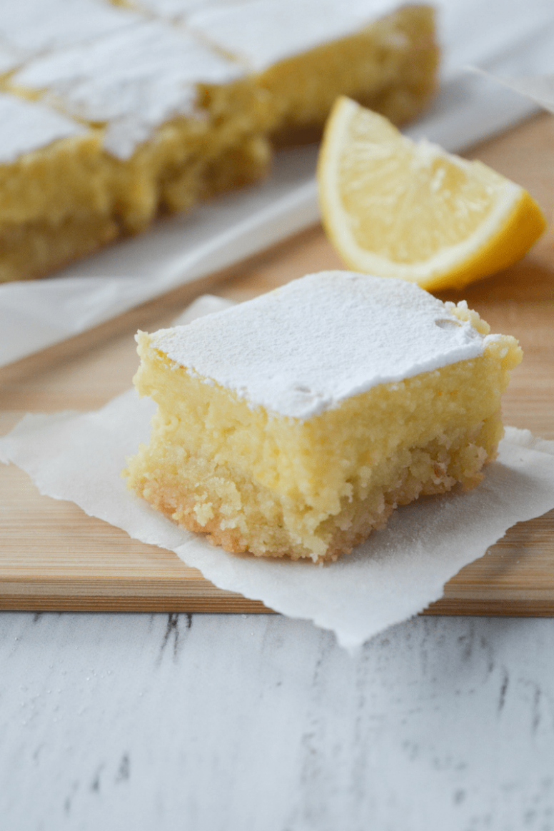 Keto Lemon Bars - Dessert Recipes Keto