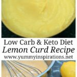 Keto Lemon Curd – Recipes Egg Yolks Lemon Curd