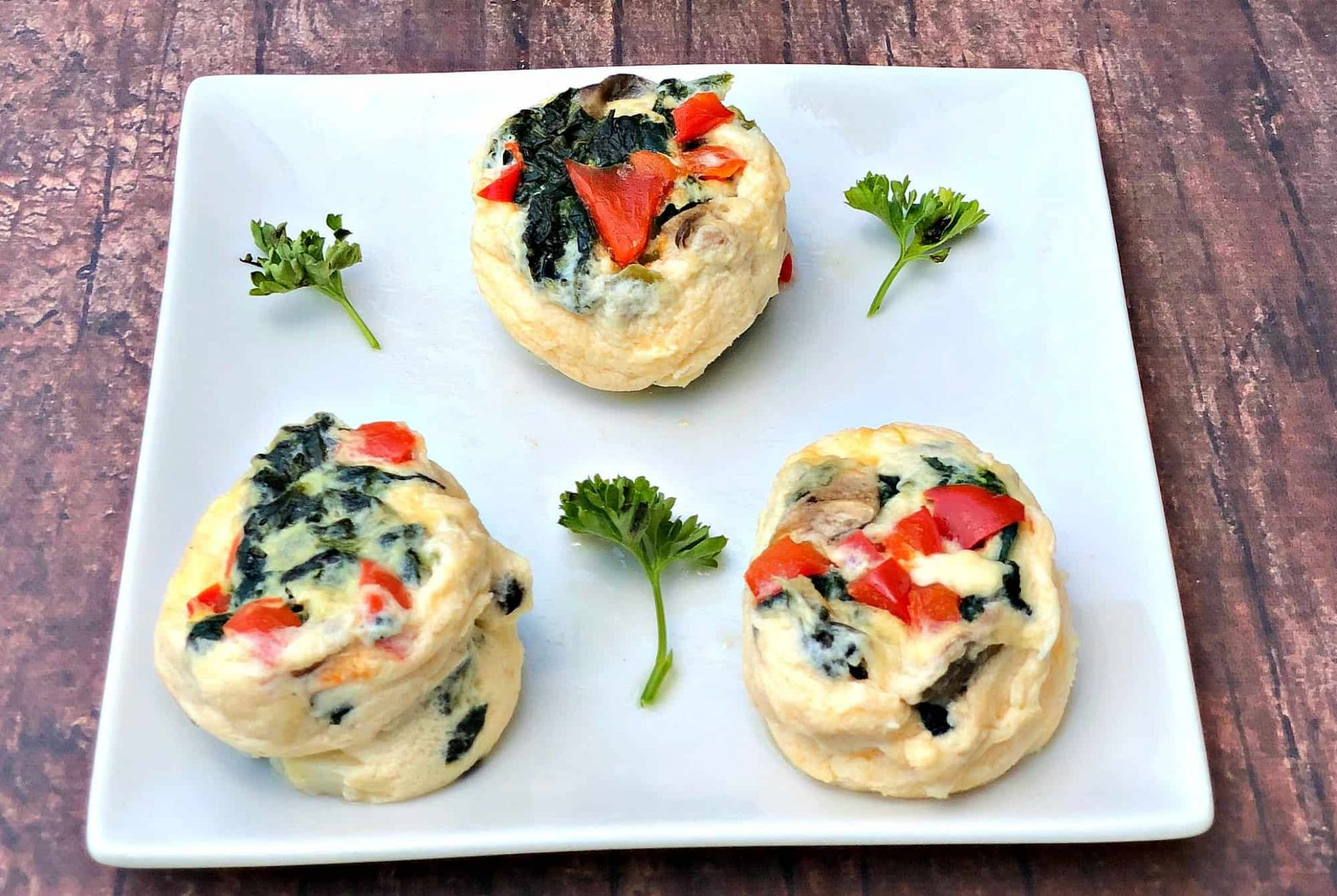 Keto Low-Carb Egg White Omelet Vegetable Bites - Recipes Egg White Bites