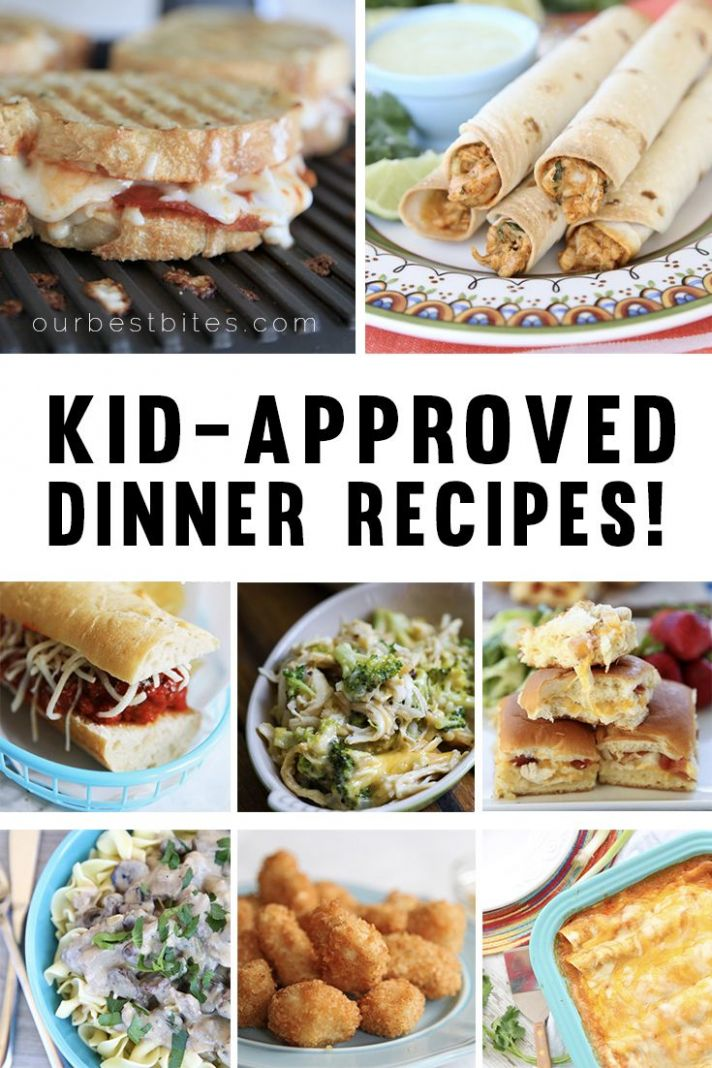 Kid-Friendly Dinner Recipes   Easy dinners for kids, Cooking with ..