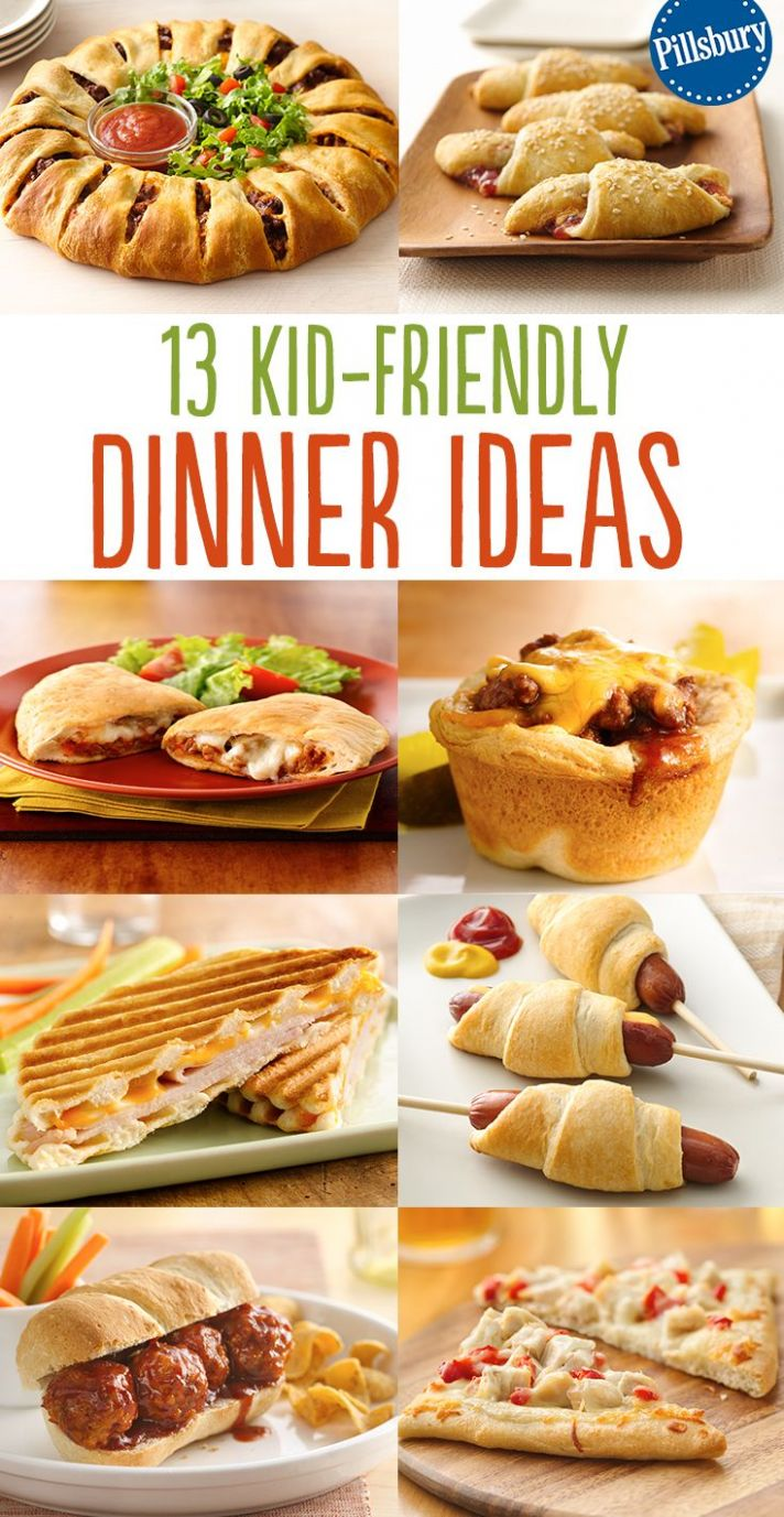 Kid-Friendly Dinners the Whole Family Will Love   Food, Easy ..