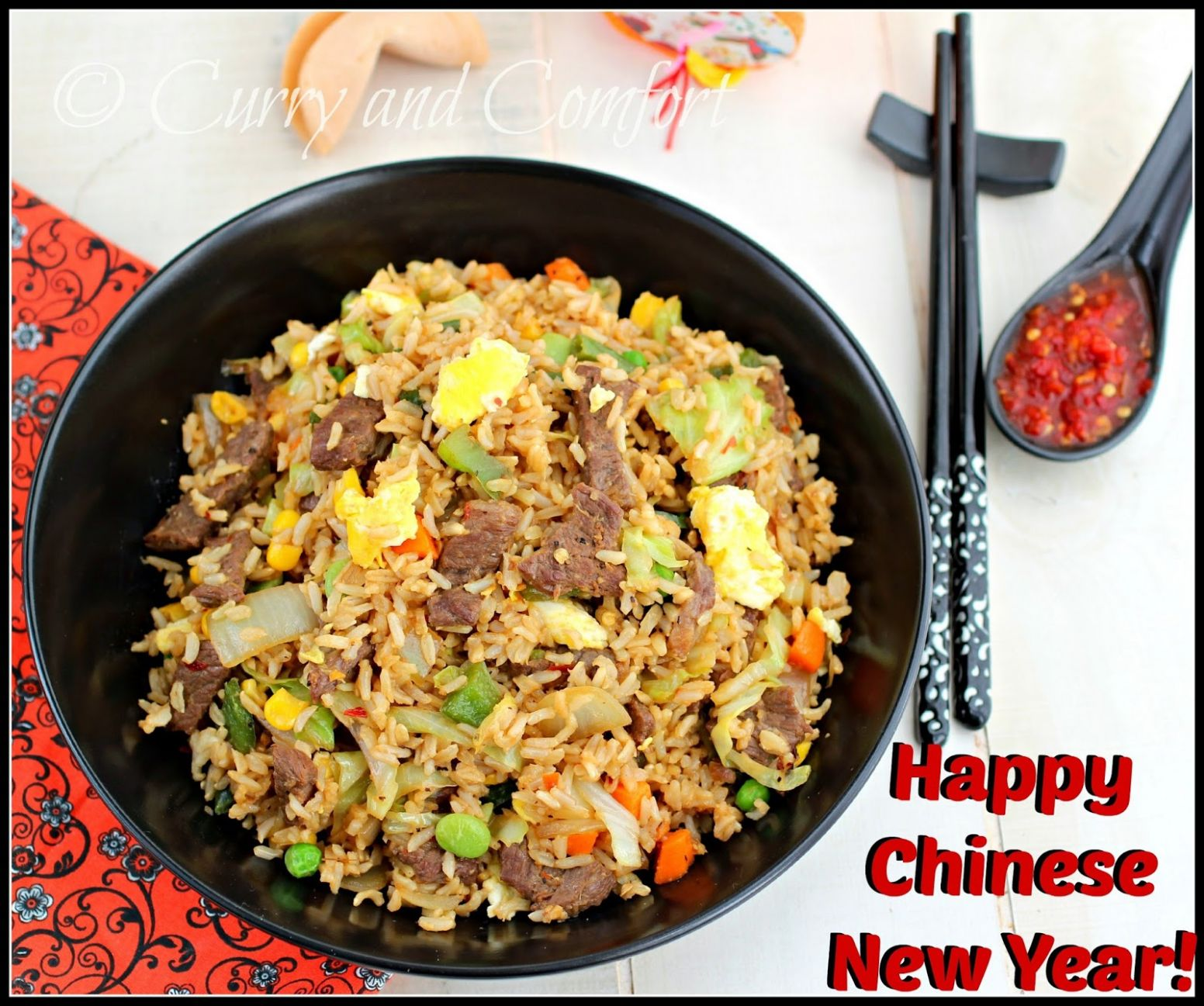 Kitchen Simmer: Hoisin Beef Fried Rice - Recipes Beef Fried Rice