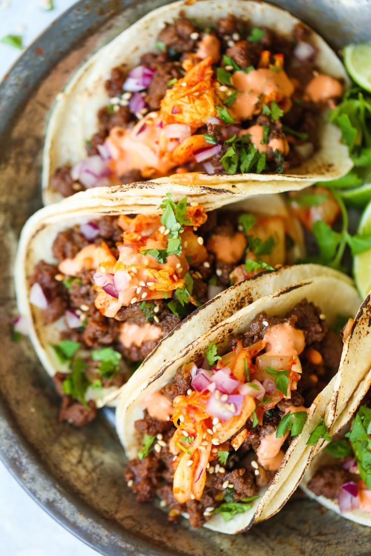 Korean Beef Tacos - Recipes Beef Tacos