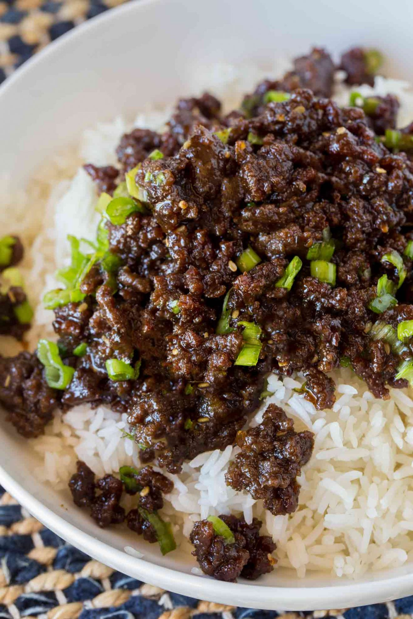 Korean Ground Beef - Food Recipes With Ground Beef